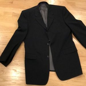 Ted Baker Black wool suit
